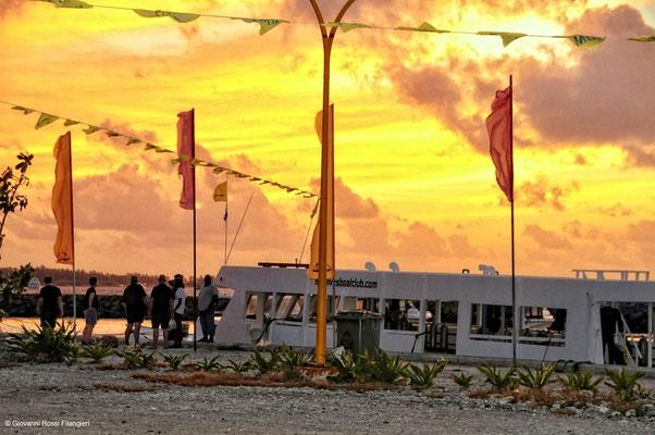 MALDIVE Villaggio nell'atollo di Ari