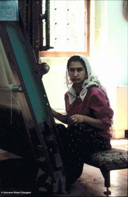 TURCHIA fabbrica di tappeti