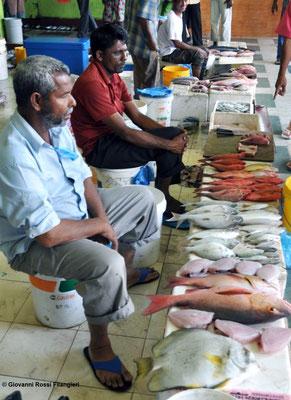 MALE' mercato del pesce