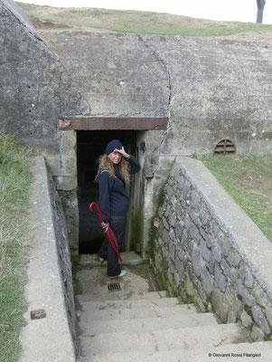 POINTE DU HOC Bunker nazista