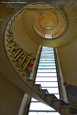 Ex Tabacchificio SAIM: torre dell'amministrazione
