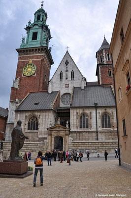 LA COLLINA DI WAWEL: la cattedrale