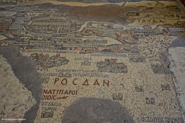 """MADABA la """"mappa della terrasanta"""""""