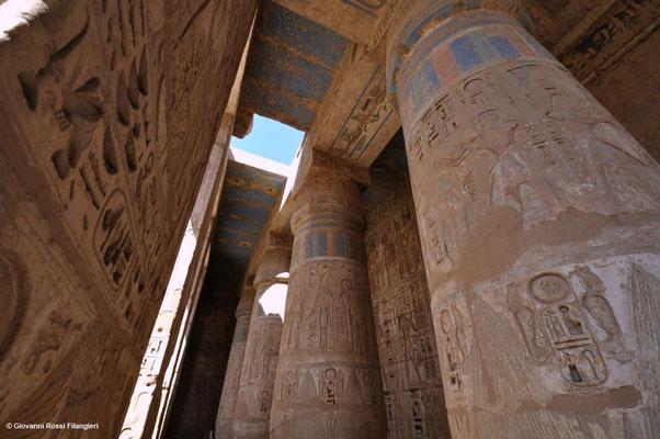 LUXOR Tempio di Abu Medinat