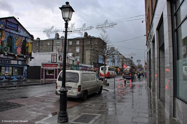 In cammino verso la stazione di O' Connell St.
