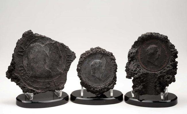 COLLEZIONE VESUVIANA le medaglie incise nella lava