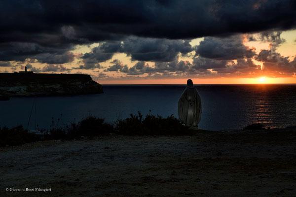 LAMPEDUSA alba al faro di capo grecale