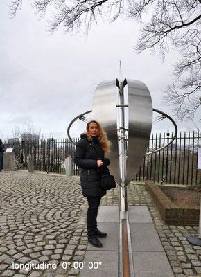 INGHILTERRA meridiana di Greenwich: longitudine 0 gradi 0 primi 0 secondi