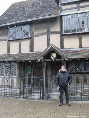 la casa natale di William Shakespeare