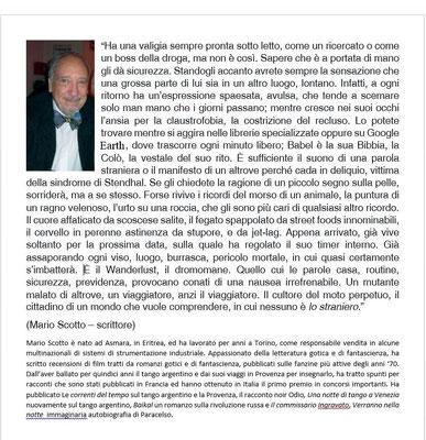 MARIO SCOTTO SCRITTORE