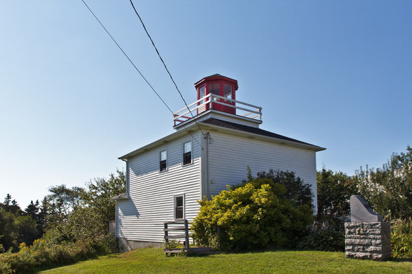 Burntcoat Head Lighthouse , Nova Scotia Kanada