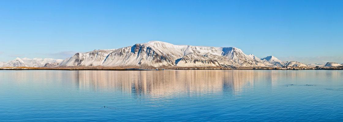 Gebirgszug Helgrindur auf Snæfellsnes - Island
