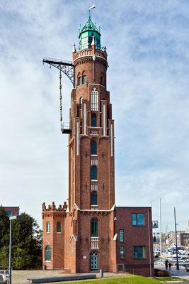 Oberfeuer Simon-Loschen-Leuchtturm - Bremerhafen
