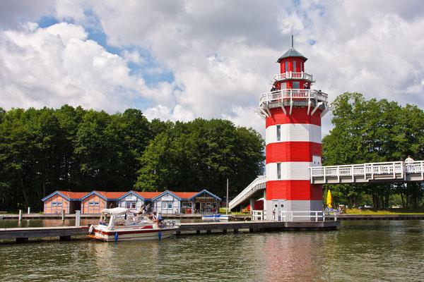 Leuchtturm Hafendorf Rheinsberg