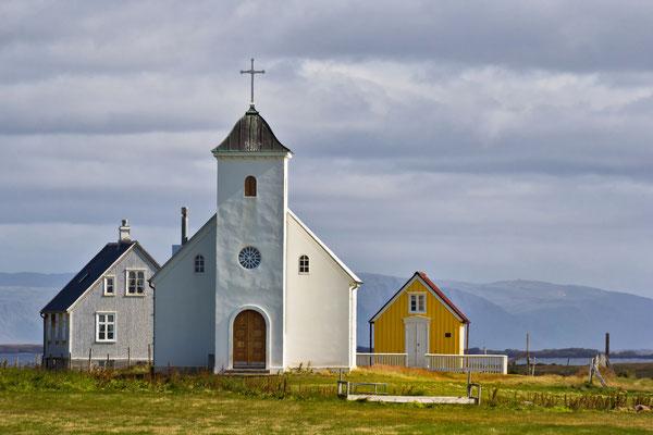 Kirche auf Flatey