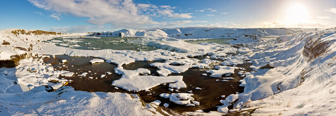 Wasserfall Urridiafoss - Island