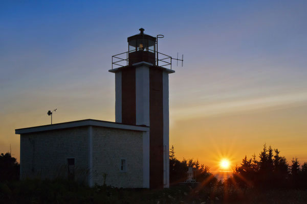 Point Prim Lighthouse Digby, Nova Scotia Kanada