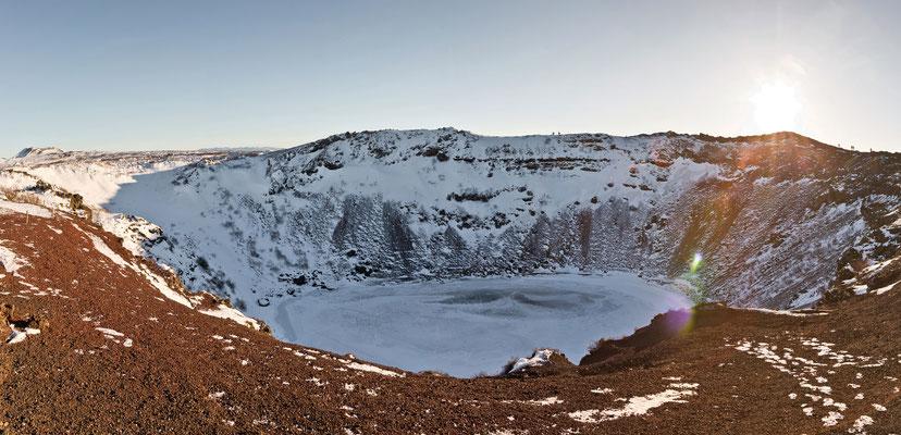 Vulkansee Kerið - Island