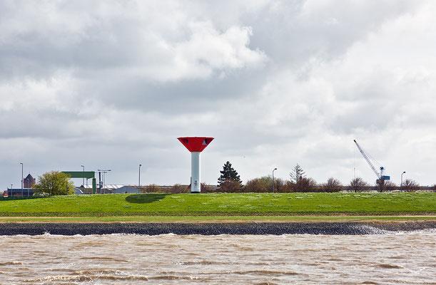 Richtfeuer Bremerhaven Fischereihafen