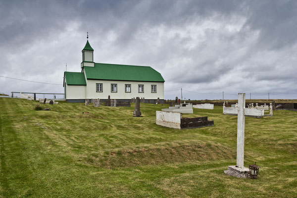 Kirche auf Reykjanes