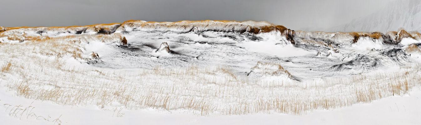Dünen im Sturm  - Island