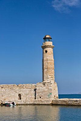 Alter ägyptischer Leuchtturm Rethymno / Kreta / Griechenland