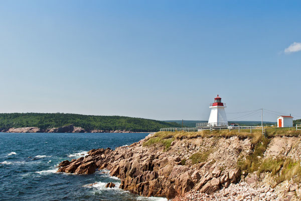 Neils' Harbour Lighthouse, Nova Scotia Kanada