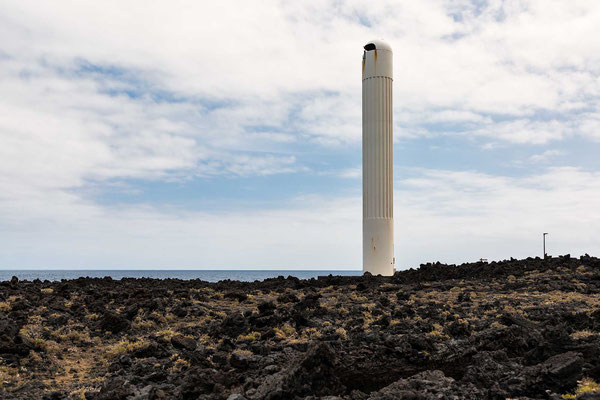 Lighthouse Faro Arenas Blancas / La Palma /  Kanaren