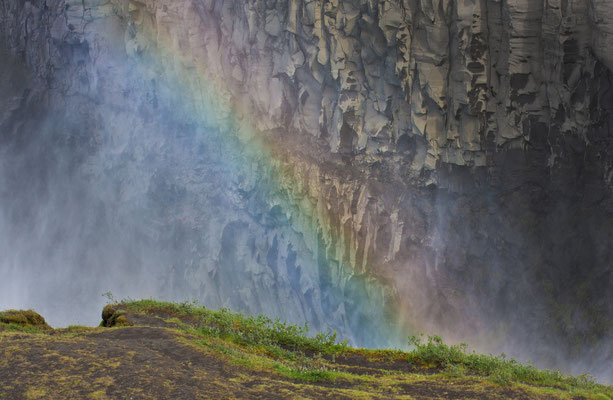 Rainbow am Dettifoss
