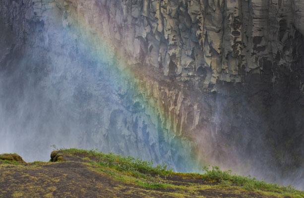 Rainbow am Dettifoss