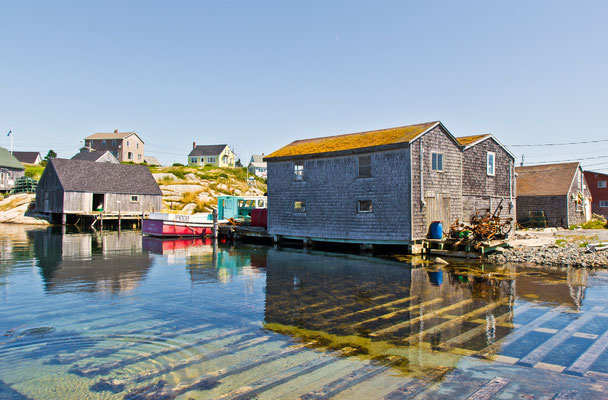 Hafen in Peggys Cove
