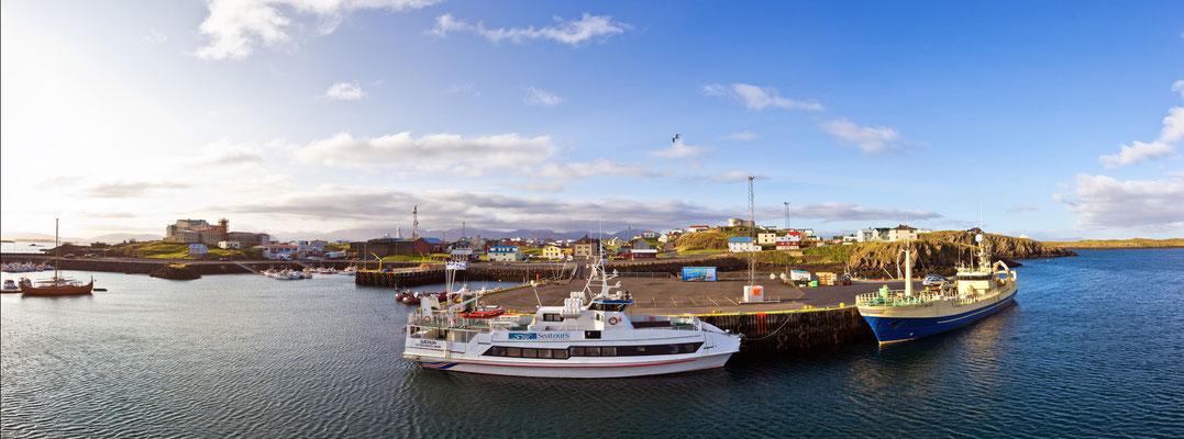 Hafen von Stykkishólmur - Island