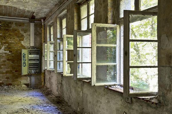Fenster auf Lüftung