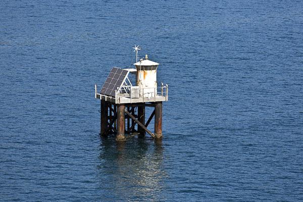 Hafeneinfahrts Leuchtturm Wellington Neuseeland Nordinsel