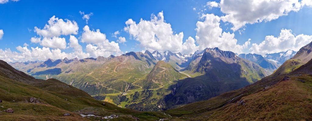 Bergblick Obergurgel - Ötztal - Österreich
