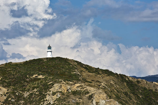 Old Pencarrow Lighthouse,Wellington, Neuseeland Nordinsel