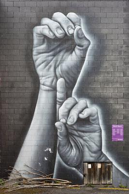 Hände zu Himmel