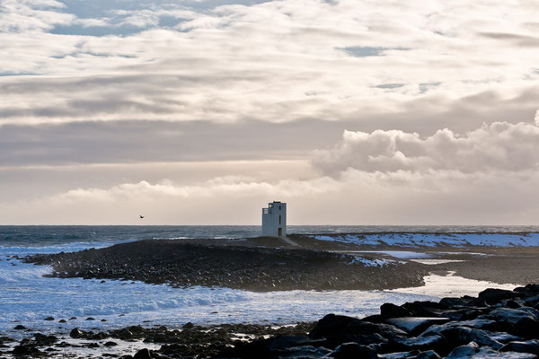Leuchtturm von Þorlákshöfn- Island