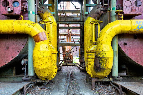 Big yellow pipes