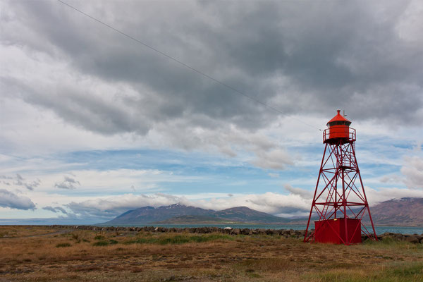 Leuchtturm in Hjalteyri - Island