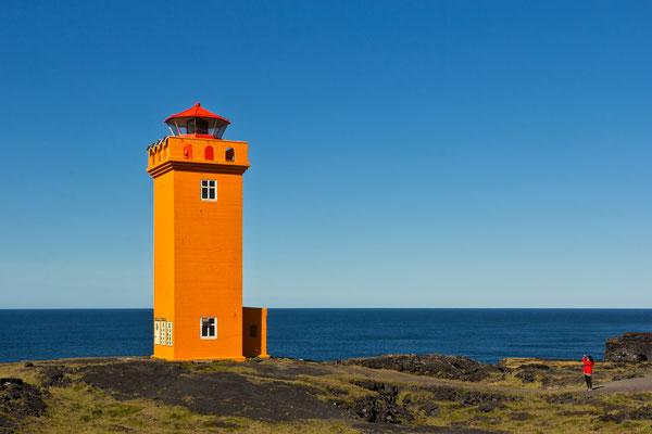 Leuchtturm von Svörtuloft - Island