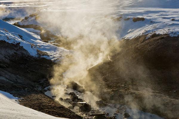Geothermalgebiet Krýsuvík