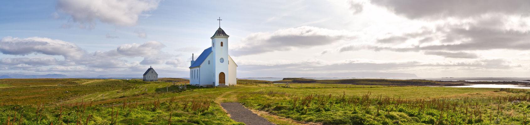 Kirche von Flatey - Island