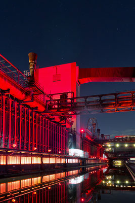 Industrie in rot