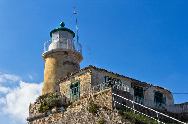 Alter Festungs - Leuchtturm Korfu (Stadt) / Kerkyra / Griechenland