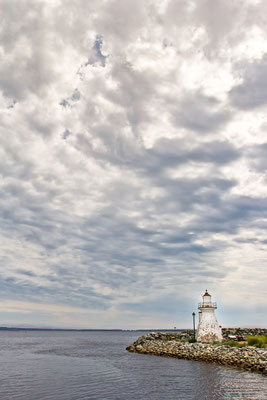 Port Medway Lighthouse , Nova Scotia Kanada