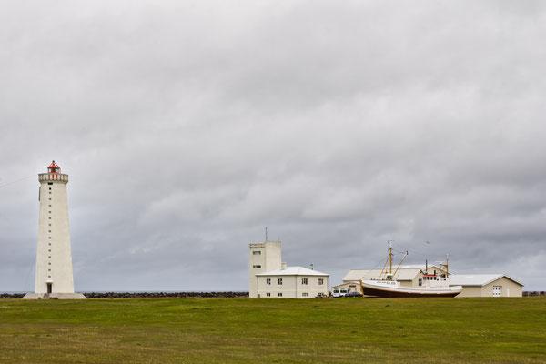 Neuer Leuchtturm Garðskagi