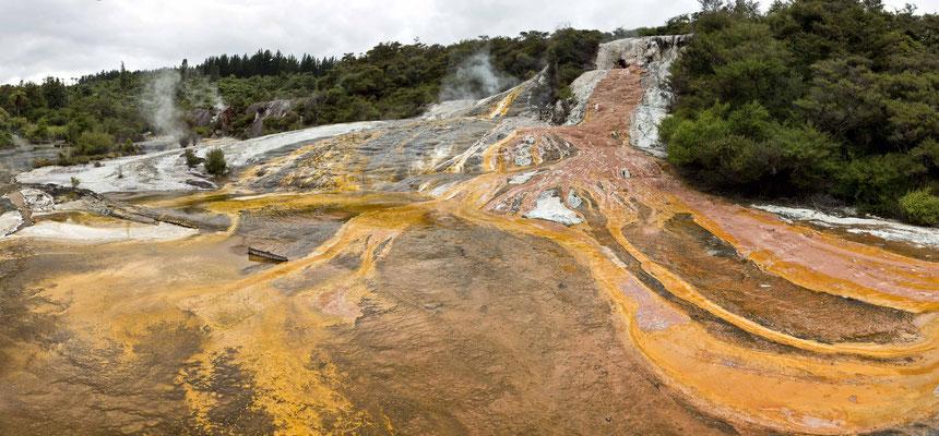 Orakei Korake Cave & Thermal Park - Neuseeland / Nordinsel
