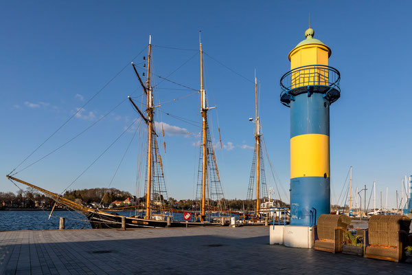 Alter Leuchtturm Eckernförde (Hafen)