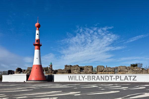 Unterfeuer Bremerhaven - Willy Brandt Platz
